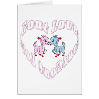Goat Love Cards