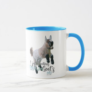 GOAT LOVE | I Just Freaking LOVE Baby Goats OK Mug
