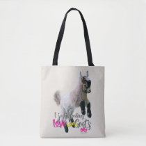 GOAT LOVE | Just Freaking LOVE Baby Goats OK Tote Bag