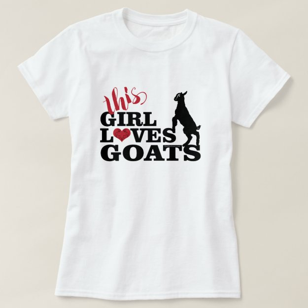 GOAT LOVE | This Girl Loves Goats Baby Toggenburg T-Shirt