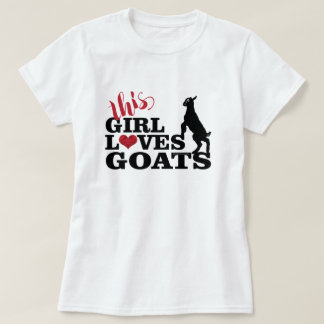 GOAT LOVE | This Girl Loves Goats Baby Toggenburg T-Shirt