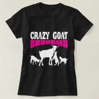 GOAT Lover   Crazy Goat Grandma Pink GYG T-Shirt