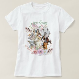 GOAT LOVER | God's Precious Gifts GetYerGoat™ T-Shirt