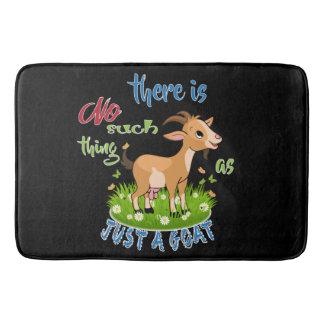 GOAT Lover | Just a Goat GetYerGoat™ Bathroom Mat