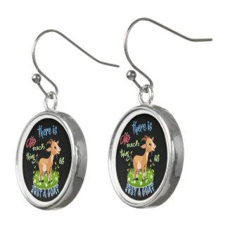 GOAT Lover | Just a Goat GetYerGoat™ Earrings