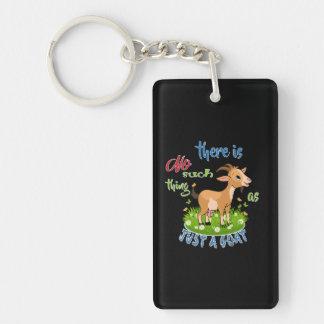 GOAT Lover | Just a Goat GetYerGoat™ Keychain