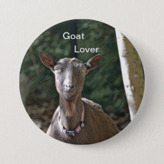 Goat Lover Pinback Button