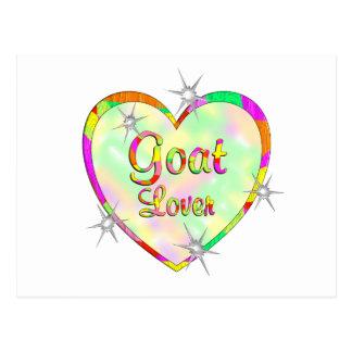 Goat Lover Postcard