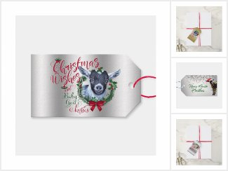 Goat Lovers Gift Tags