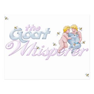 Goat Lovers Gifts Goat Whisperer Postcard
