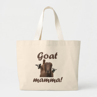 Goat Mamma Canvas Bags