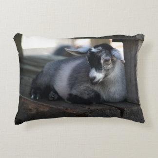Goat Accent Pillow