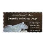 Goat Milk Soap Label - customizable