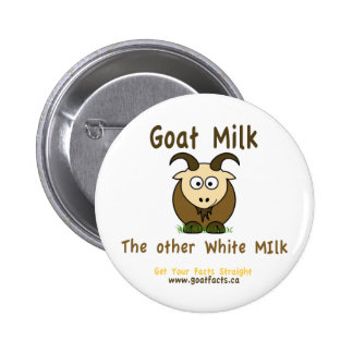 Goat Milk The Other White Milk Producst Pinback Button