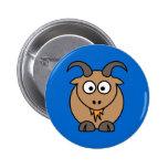 Goat Mix 2 Inch Round Button