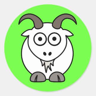 Goat Mix Round Sticker