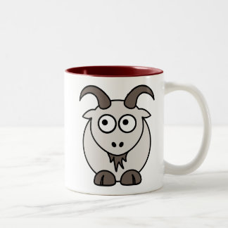 Goat Mix Two-Tone Coffee Mug