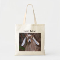 Goat Mom Tote Bag
