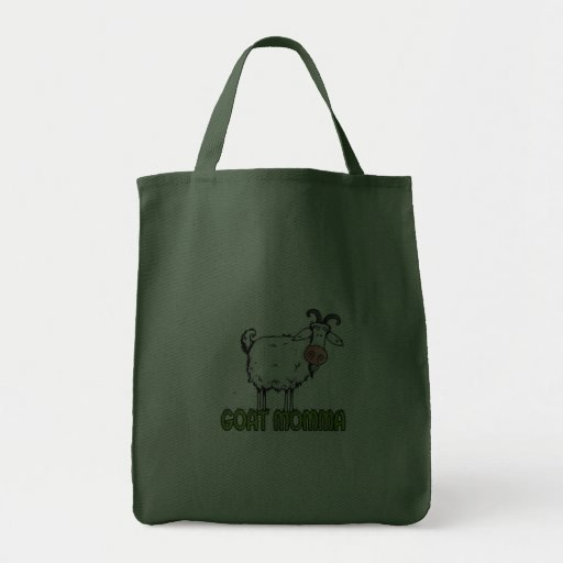 goat momma canvas bags