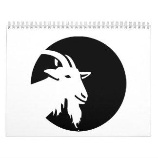 Goat moon calendar