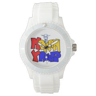 Goat My Barn My Rules Wristwatch