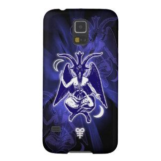 Goat of Mendes Baphomet & Satanic Crosses Galaxy S5 Cases