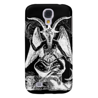 Goat Of Mendes Black And White Samsung Galaxy S4 Cases
