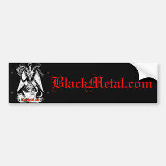 Goat of Mendes Black Bumpersticker Bumper Stickers