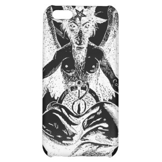 Goat of Mendes Black iPhone 4 Case