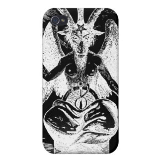 Goat of Mendes Black iPhone 4 Case