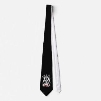 Goat of Mendes Black Neck Tie