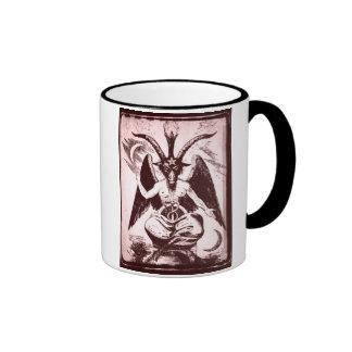 Goat Of Mendes Old Ringer Coffee Mug