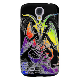 Goat Of Mendes Rainbow Galaxy S4 Cover