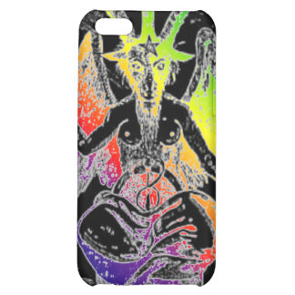 Goat Of Mendes Rainbow iPhone 5C Covers