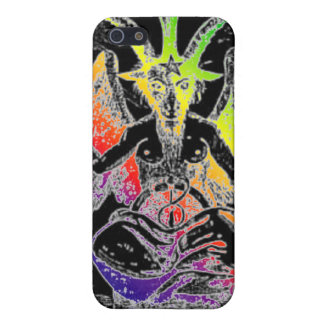 Goat Of Mendes (Rainbow) iPhone SE/5/5s Case