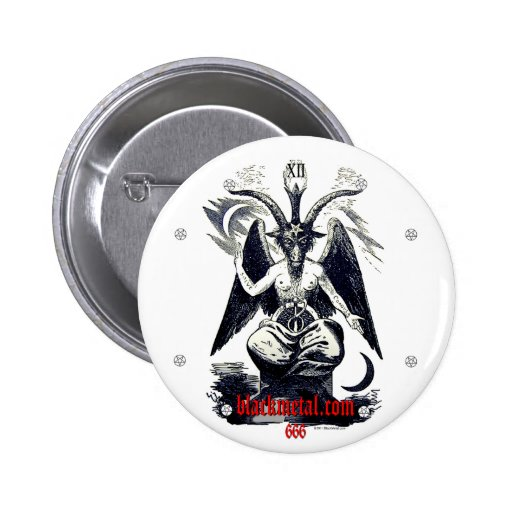 Goat of Mendes Round Button