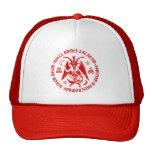 Goat of Mendes Satanic Baphomet Cap [Red] Trucker Hat