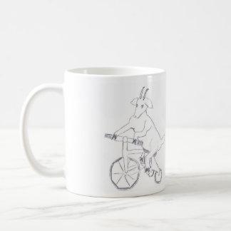 Goat On A Trike Mug