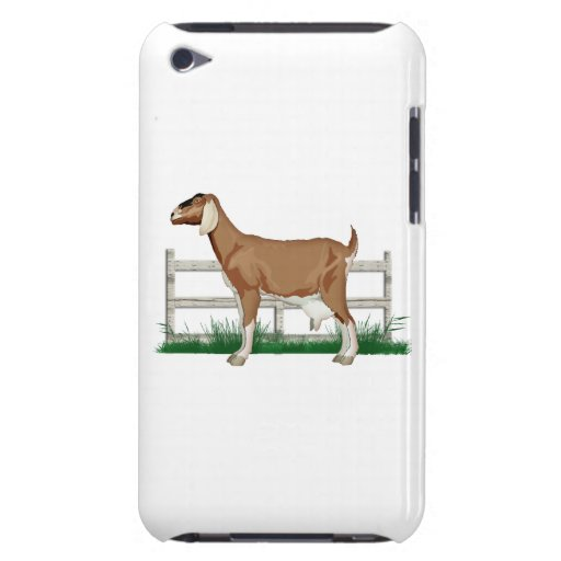 Goat on the Farm Beside a Fence Case-Mate iPod Touch Case