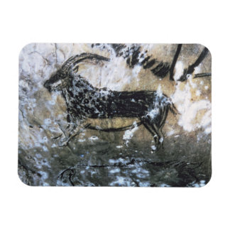 Goat or Chamois, rock painting in the Black Room, Magnet
