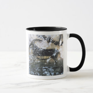 Goat or Chamois, rock painting in the Black Room, Mug