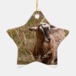 Goat Ornament Christmas Ornament