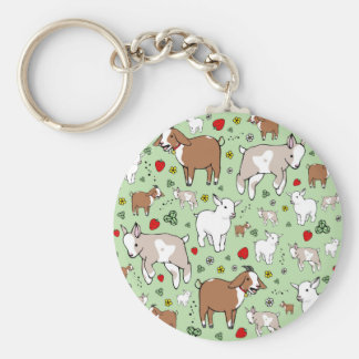 Goat Party Keychain