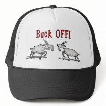 Goat Pet Farm Animal Buck Off for Men Gifts Dad Trucker Hat