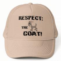 Goat Pet Farm Animal Respect Goat Husband Dad Trucker Hat