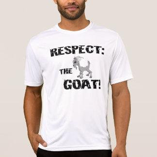 Goat Pet Farm Animal Respect Goat Husband Dad Tshirts