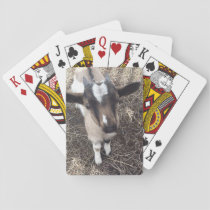 Goat Photo Playing Cards