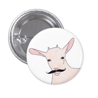 goat pinback button