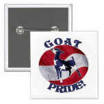 GOAT PRIDE AMERICAN FLAG USA PIN