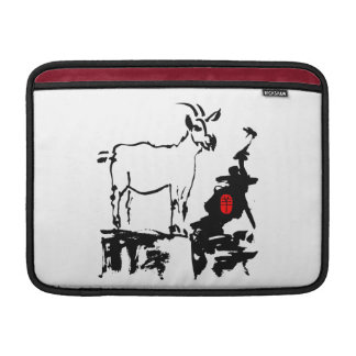 Goat rocks - 2015 Chinese New Year of The Goat - MacBook Sleeve